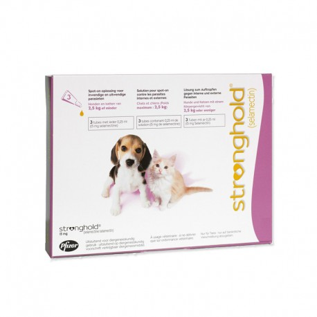 stronghold cani  STRONGHOLD 15MGx15 TUBETTI per Cani Zoetis - ZooPetPlus